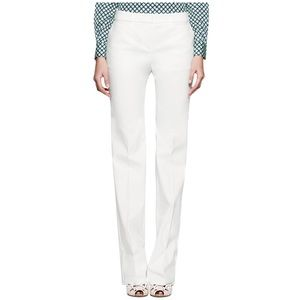 Tory Burch • Callie wide leg pants in white